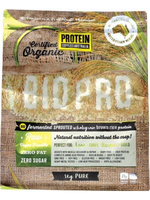 PROTEIN SUPPLIES AUST. BioPro (Sprouted Brown Rice) Pure 1kg