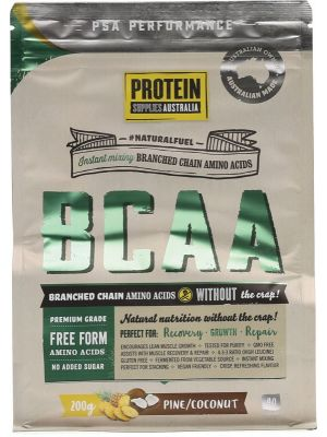 PROTEIN SUPPLIES AUST. BCAA Pine Coconut 200g