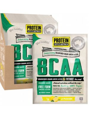 PROTEIN SUPPLIES AUST. BCAA Lemonade Sachets 16x5g