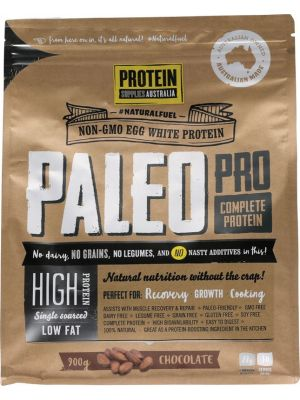 PROTEIN SUPPLIES AUST. PaleoPro Chocolate 900g