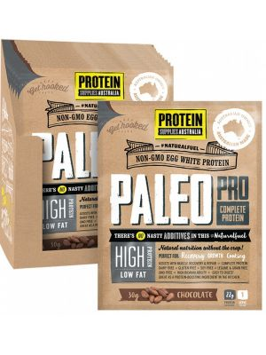 PROTEIN SUPPLIES AUST. PaleoPro Chocolate Sachets 12x30g