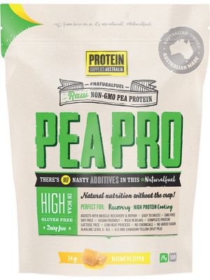 PROTEIN SUPPLIES AUST. PeaPro (Raw Pea Protein) Honeycomb 3kg