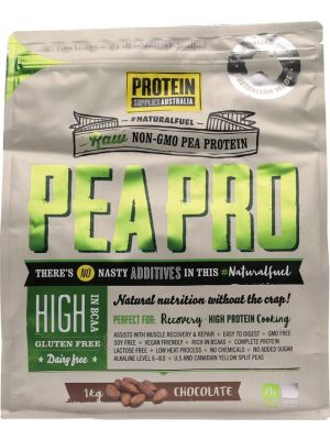 PROTEIN SUPPLIES AUST. Choc Pea Protein Isolate 1kg