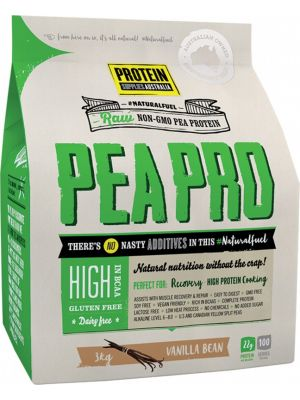 PROTEIN SUPPLIES AUST. Van. Pea Protein Isolate 3kg