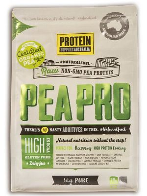 PROTEIN SUPPLIES AUST. Pea Protein Isolate 3kg