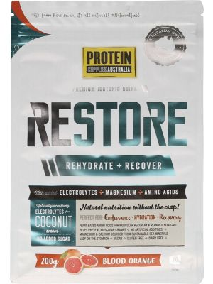 PROTEIN SUPPLIES AUST. Restore Blood Orange 200g