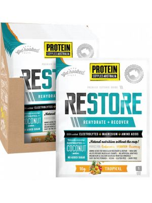 PROTEIN SUPPLIES AUST. Restore Tropical Sachets 16x10g