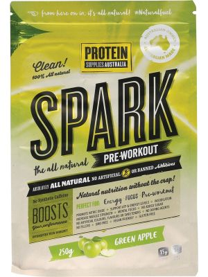 PROTEIN SUPPLIES AUST. Spark Pre-workout Apple 250g