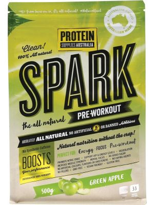 PROTEIN SUPPLIES AUST. Spark Pre-workout Apple 500g