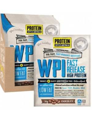 PROTEIN SUPPLIES AUST. WPI Chocolate Sachets 12x30g