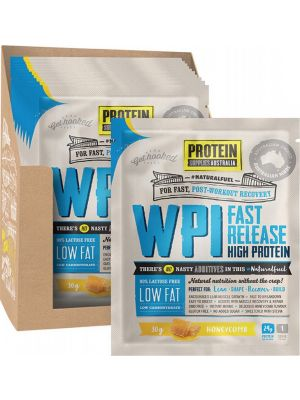 PROTEIN SUPPLIES AUST. WPI (Whey Protein Isolate) Honeycomb 12x30g