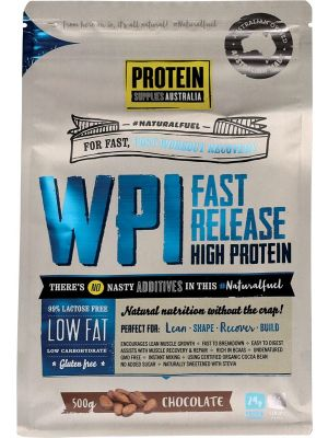 PROTEIN SUPPLIES AUST. WPI Chocolate 500g