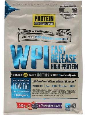 PROTEIN SUPPLIES AUST. WPI Strawberry Acai 500g