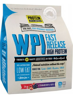 PROTEIN SUPPLIES AUST. WPI Strawberry Acai 3kg