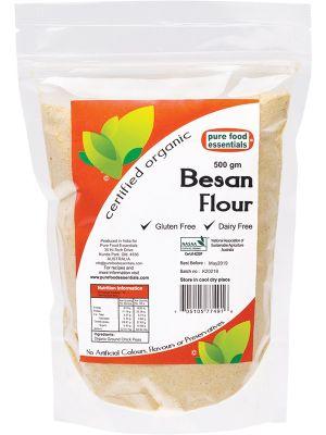 PURE FOOD ESSENTIALS Besan Flour 500g