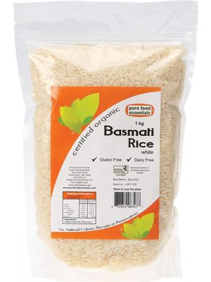 Pure Food Essentials Basmati Rice 1kg