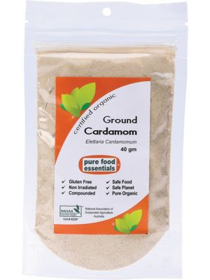 PURE FOOD ESSENTIALS Spices Cardamom Powder 40g