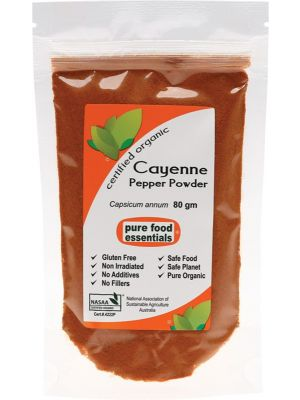 Pure Food Essentials Cayenne Pepper 80g