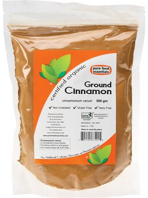 PURE FOOD ESSENTIALS Spices Cinnamon Powder 500g