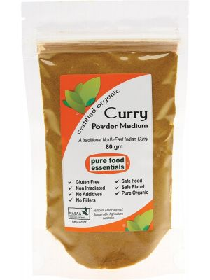 Pure Food Essentials Curry Powder (Medium) 80g