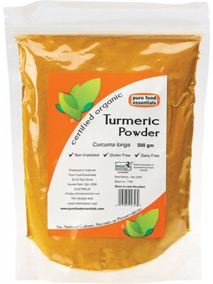 PURE FOOD ESSENTIALS Spices Turmeric Powder 500g