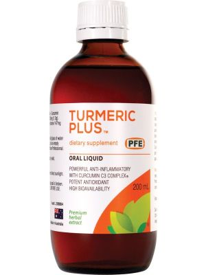 Pure Food Essentials Turmeric Plus 200ml