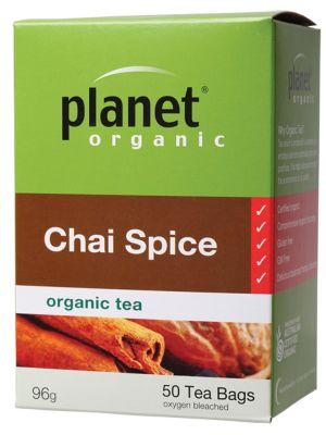 Planet Organic Chai Spice Tea Bags 50 bags