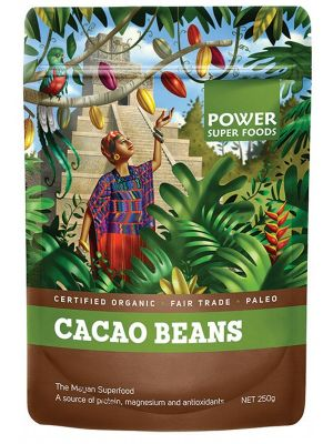 Power Super Foods Cacao Beans 250g