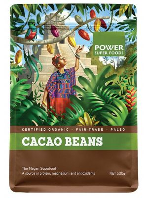 Power Super Foods Cacao Beans 500g