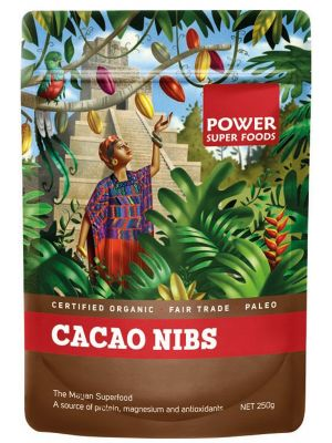 Power Super Foods Cacao Nibs 250g