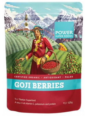 Power Super Foods Goji Berries 125g