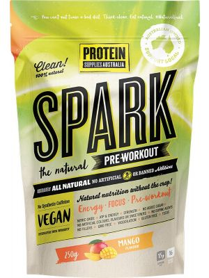 Protein Supplies Australia Spark (All Natural Pre-workout) Mango 250g
