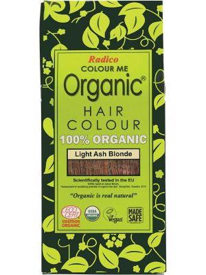 RADICO Colour Me Organic - Hair Colour Powder - Light Ash Blonde 100g