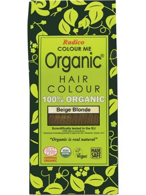 RADICO Colour Me Organic - Hair Colour Powder - Beige Blonde 100g