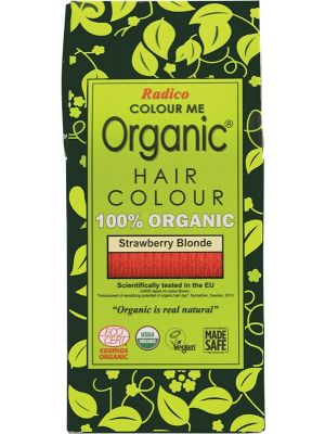 RADICO Colour Me Organic - Hair Colour Powder - Strawberry Blonde 100g