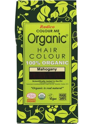 RADICO Colour Me Organic - Hair Colour Powder - Mohogany 100g