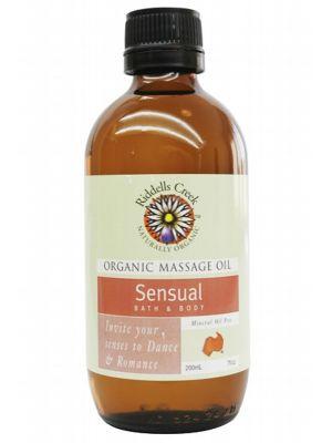 Riddells Creek Sensual Massage Oil 200ml