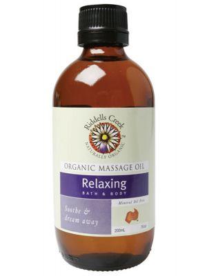 Riddells Creek Relaxing Massage Oil 200ml