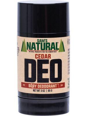 SAM'S NATURAL Deodorant Stick Cedar 85g