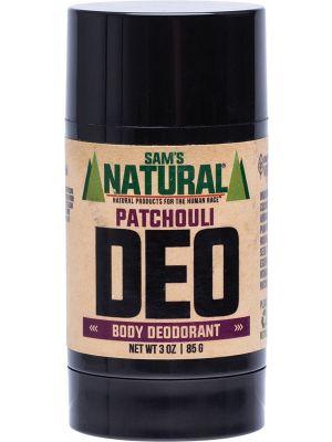 SAM'S NATURAL Deodorant Stick Patchouli 85g