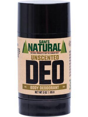 SAM'S NATURAL Deodorant Stick Unscented 85g