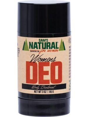 SAM'S NATURAL Deodorant Stick Womens 85g