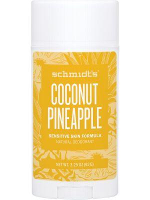 SCHMIDT'S Deo Stick - Sensitive Skin Coconut Pineapple 92g