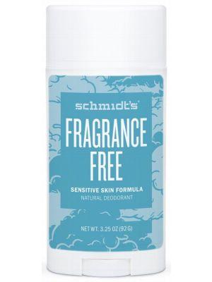 SCHMIDT'S Deo Stick Fragrance Free 92g