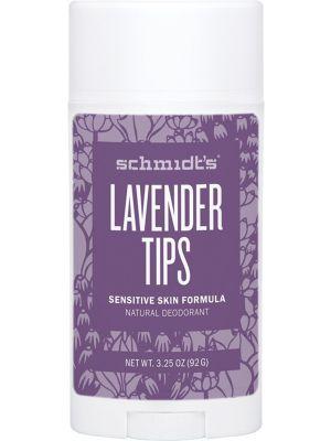SCHMIDT'S Deo Stick - Sensitive Skin Lavender Tips 92g