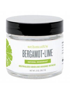 SCHMIDT'S Bergamot & Lime Deodorant Jar 56g