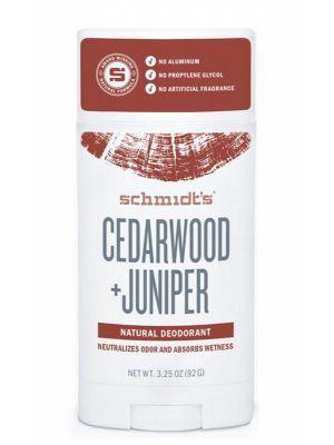 SCHMIDT'S Deodorant Stick Cedarwood & Juniper 75g