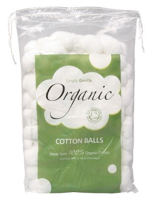 Simply Gentle Cotton Balls 100 pack