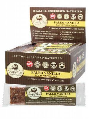 Simply Raw Paleo Vanilla 20 x 50g