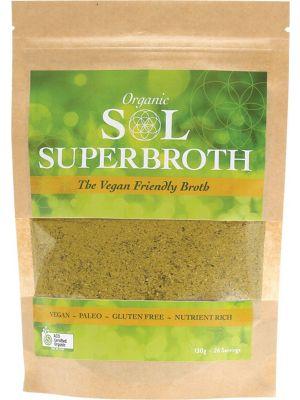 SOL GHEE Superbroth Vegan Friendly Broth 130g